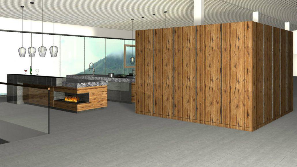 Showroom Design Kueche