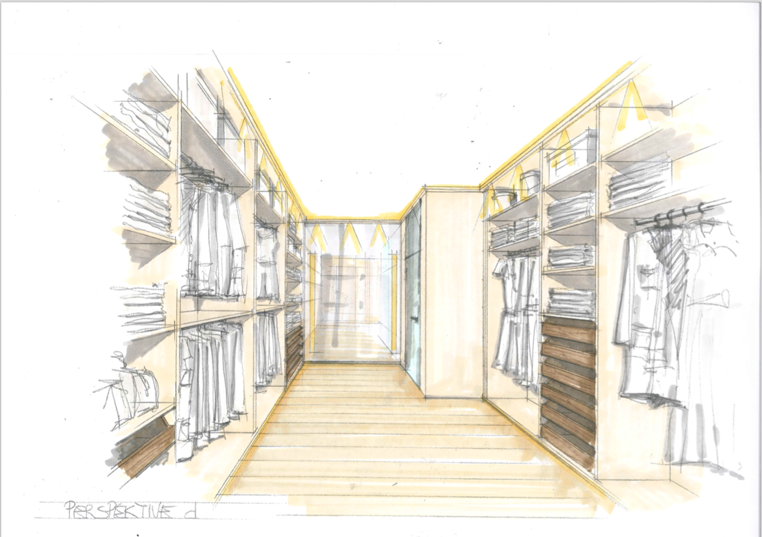 Design Kroell Winkel walkin closet