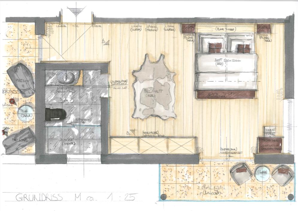 Grundriss design villa kroell winkel
