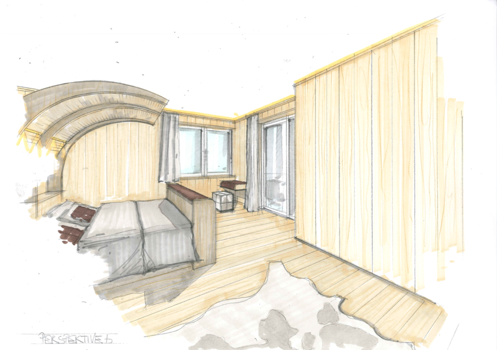 Kroell Winkel Design Schlafzimmer Holz
