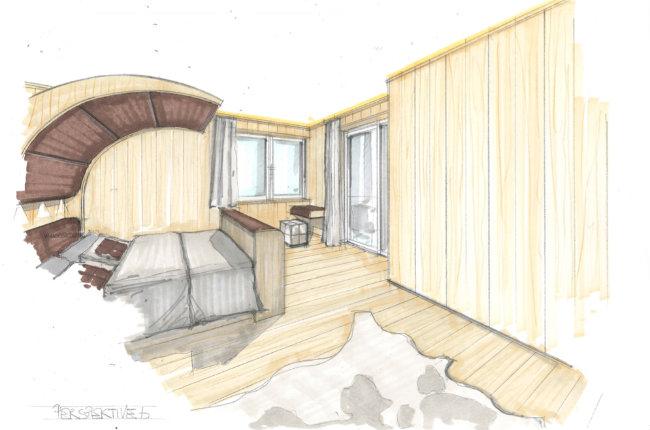 Design Zeichnungen Schlafzimmer