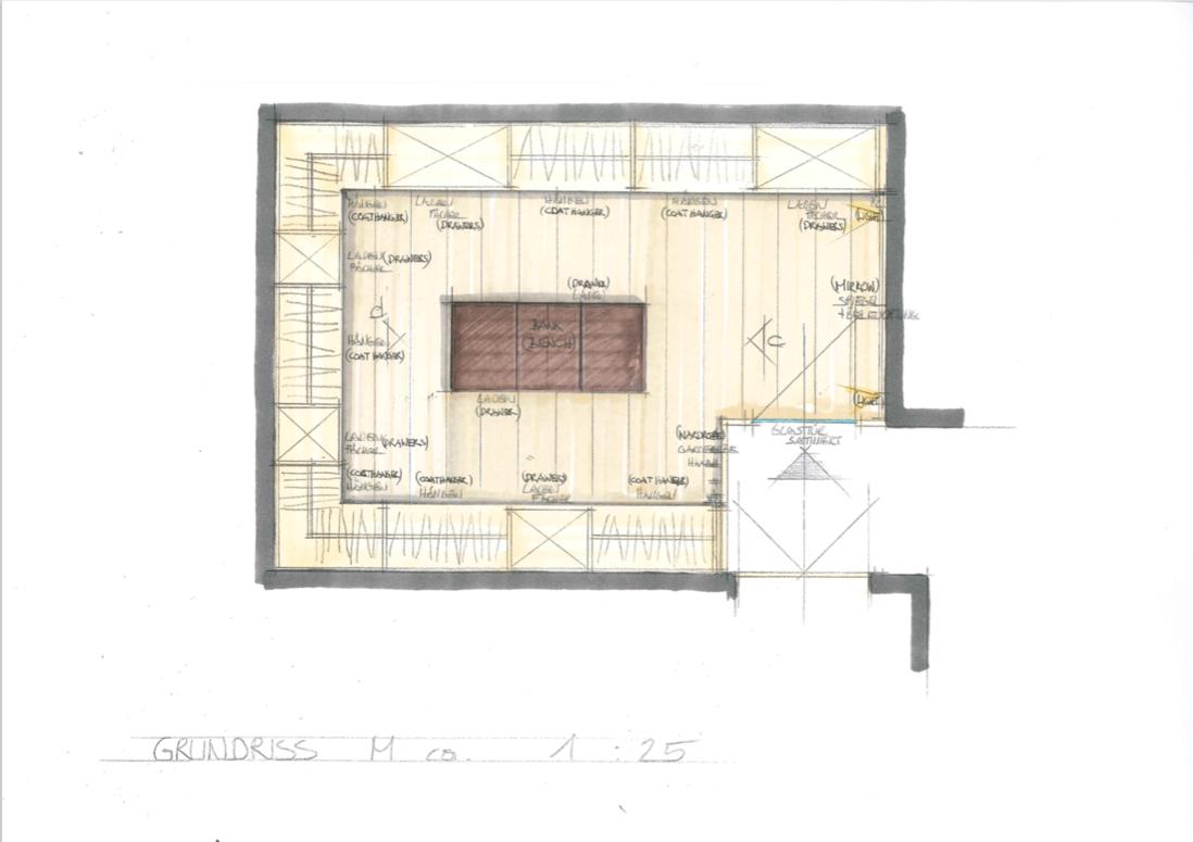 Ansicht Kroell Winkel Design walk in closet