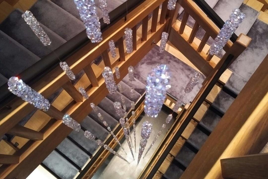 Crystal Monkey Swarovski Accessoires Treppenhaus