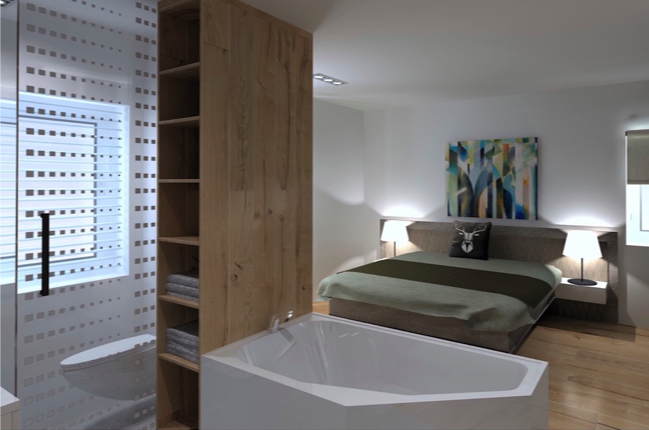 Disgn minimalistic master bedroom
