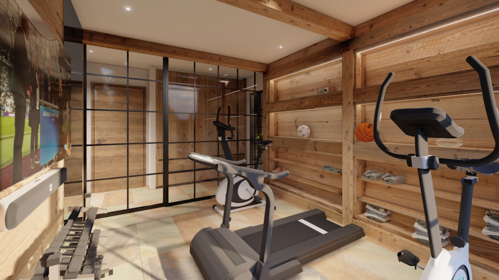 Design Fitnessraum