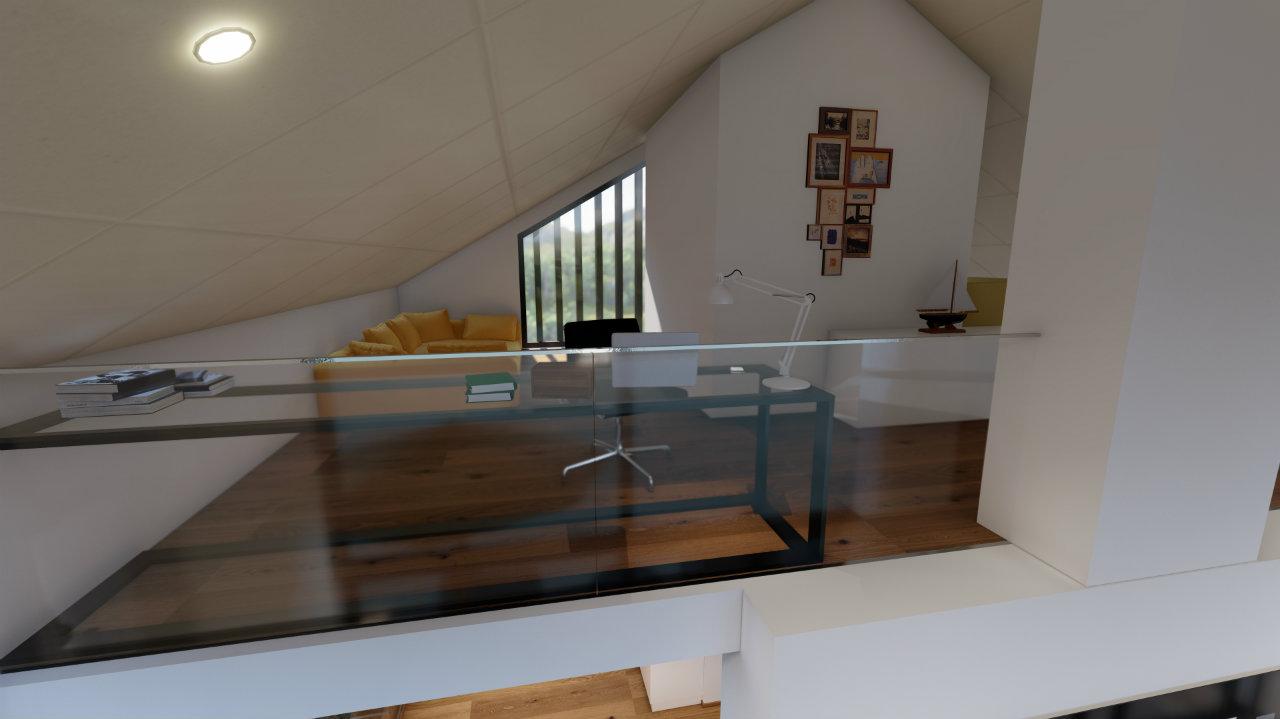 Penthouse Bureau Design Kroell Winkel