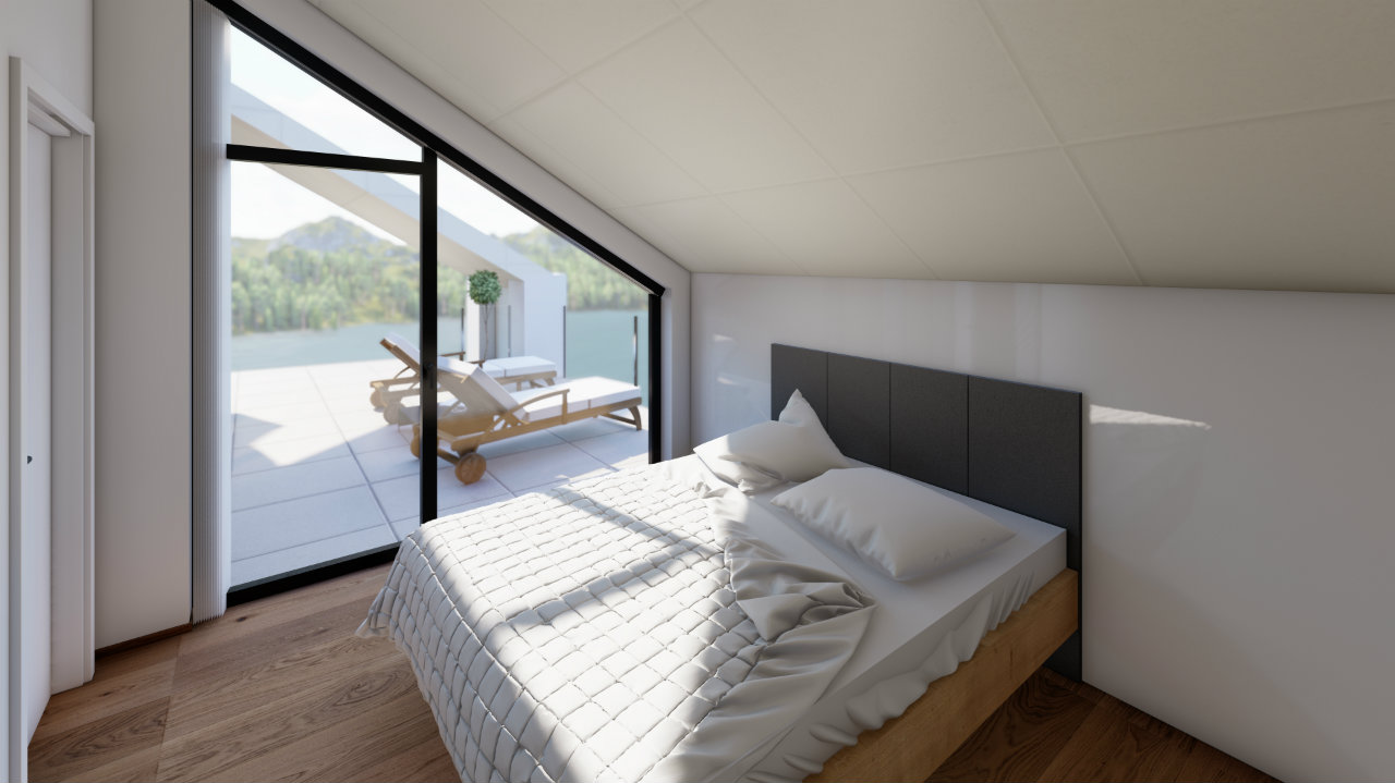 Penthouse Schlafzimmer Design Kroell Winkel