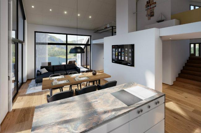 Design penthouse kueche
