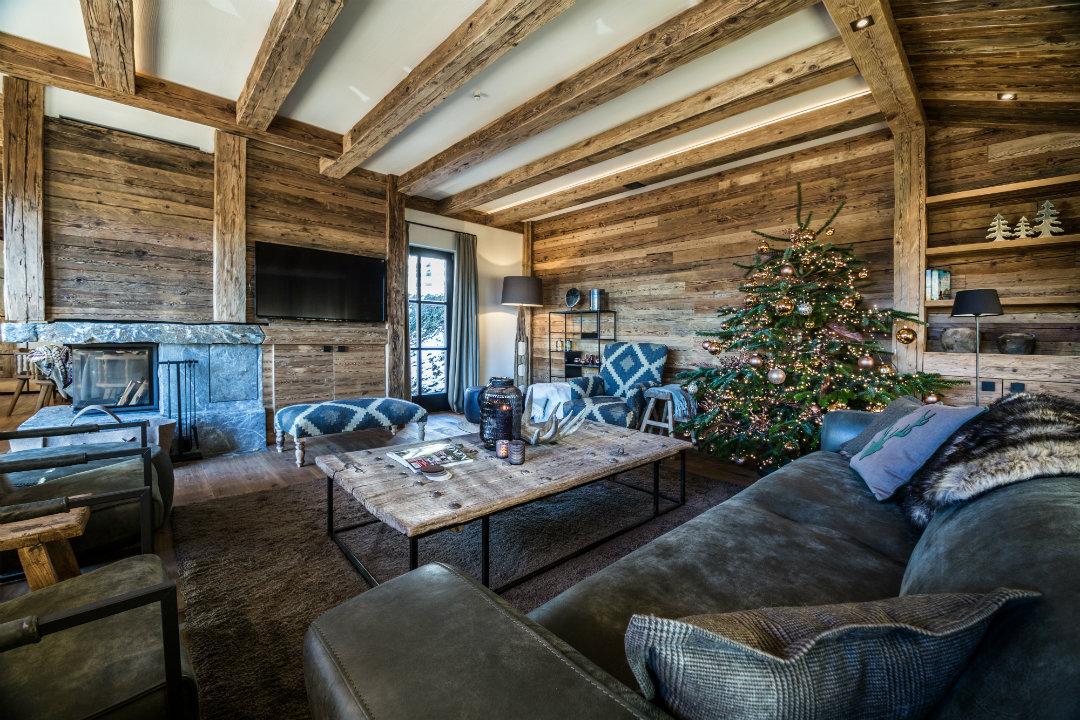 Kroell Winkel Lodge Wohnzimmer