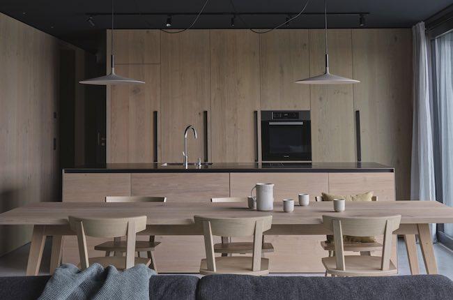 Eichen Küche