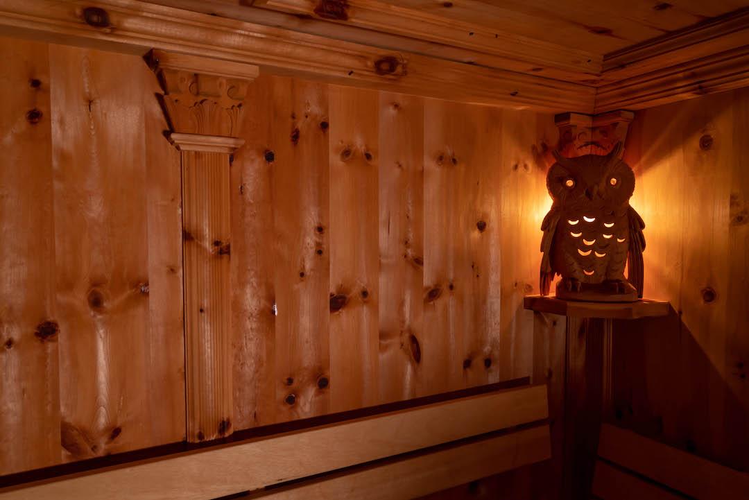 Zirben Sauna