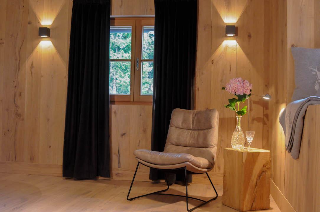 Wohnzimmer aus Eiche